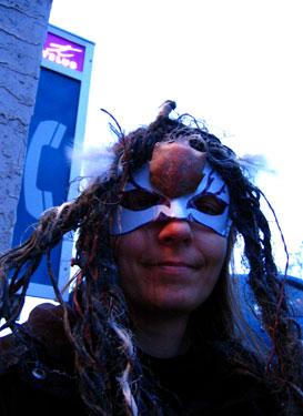crab mask